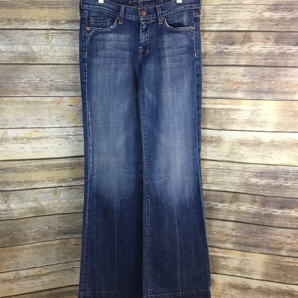 e47780a6ef313 7 For All Mankind Denim - 7 for All Mankind Jeans Dojo Flare Size 28 M14